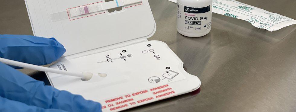 IFH COVID-19 testing
